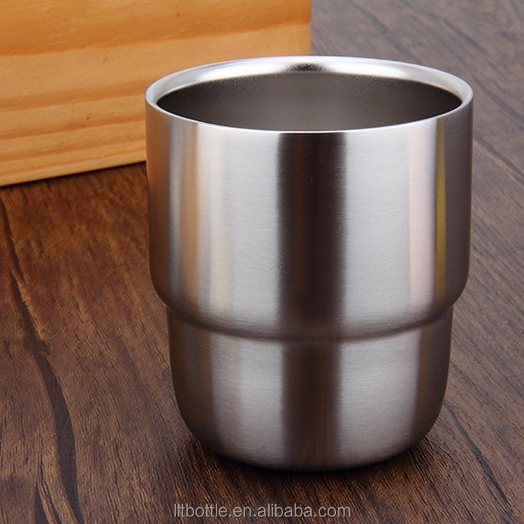 Wholesale New stainless Steel pint cup Creative Lifestyles Stainless Steel Cups Beer Cup