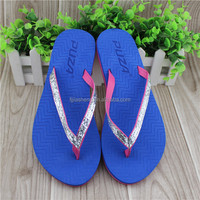 New style eva material beach sandals flip flops for ladies