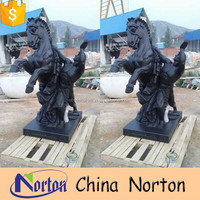 Natural Style and Animal Statue For Man And Horse NTBM-H003R