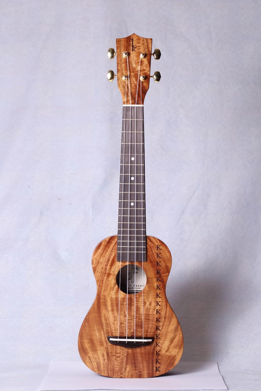 Soprano Long Neck Ukulele Solid Koa Soprano Ukulele Buy