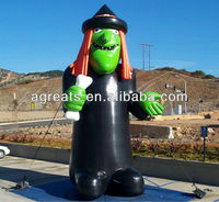 Halloween inflatable witch manufacturer S8003