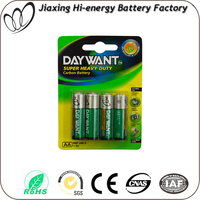 1.5v um3 carbon zinc dry battery aa size