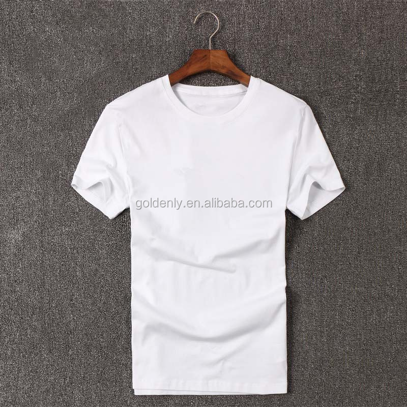 2015 classic 100% high grade cotton plain dyed white t shirts,organic t shirts for mature men