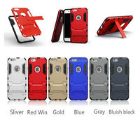 Luxury hybrid armor shockProof protective hard mobile phone cover case for iphone6 factory price