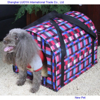 Factory direct promotional warming houses dog carrier funny dogs house