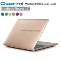 For Metal Rubberized Apple Computer Cases Macbook 12 Inch, Plastic Hard Case For Macbook Retina