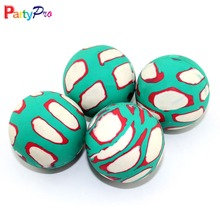 Striated colorful fashion design china factory bouncing ball