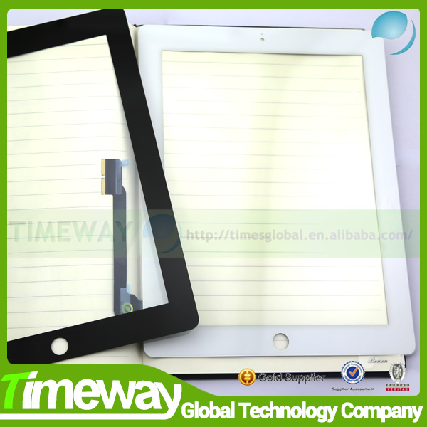 sale in bulk for iPad 3 glass front touch cover