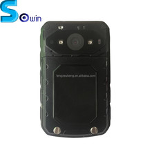 Built in GPS WIFI bluetooth 120degree 3G 4G body worn video police camera