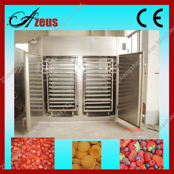CE mark Industrial food and fruit dryer / fruit and vegetable drying machine