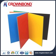 Crownbond Flexible Price Aluminum exterior wall panel cladding,wall cladding outsides prices