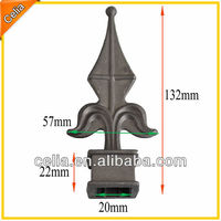 1/2, 5/8, 3/4, 2 Inch Press Fit Die Cast Aluminium Spear