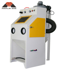 Mini Small Portable Automatic Glass Bead Mobile Used Micro Grit Sandblaster Cabinet Equipment For Sale Sand Blasting Machine