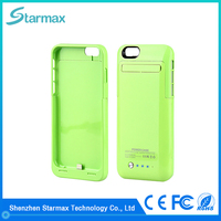 Competitive price top quality fashion colorful battery case for iphone 6s