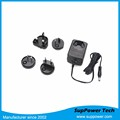 CE FC VCI GS PSE Approved Universal International Travel Interchangeable Plug 6V 4A Power Adapter