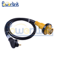S60137 ETL RV power cord RV extension cord with LED