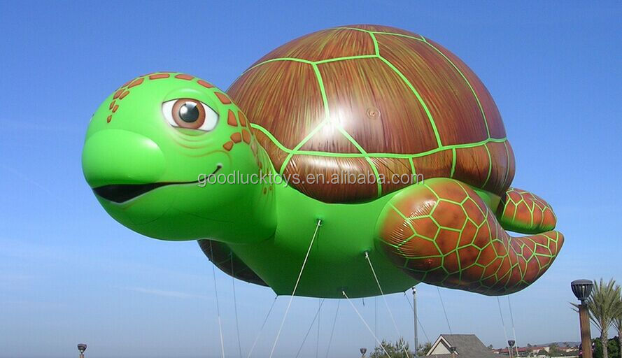 inflatable tortoise animal balloons /helium balloons