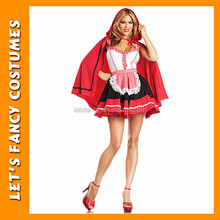 PGWC1149 Red beautiful dress female carnival costume popular cosplay costume cheap fairy tales costume