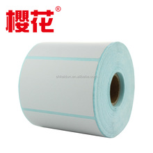 supermarket thermal paper sticker