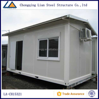 High Quality Low Price Portable Folding Shipping Storage Container House with roof