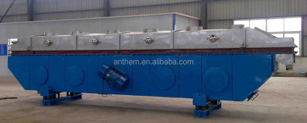 Vibrating Fluid Bed Dryer & Drying Machine