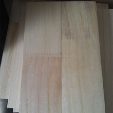 Used For Furniture And Decoration FSC Certificate Paulownia Finger Jointed Board