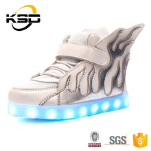 LED Light Shoes Kids Girl's Fashion Boot Baby Shoes Light