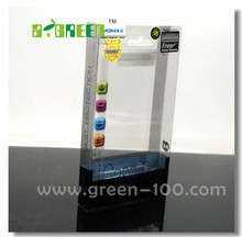 hot sales PLASTIC WINDOW BOX PACKAGING FOR IPHONE POWER ADAPTER