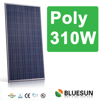 IEC/TUV/CE/UL certified 310w solar module for solar power system