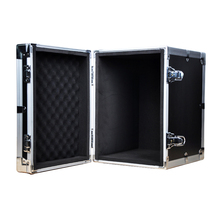 Large durable reinforce aluminum empty storage tool box