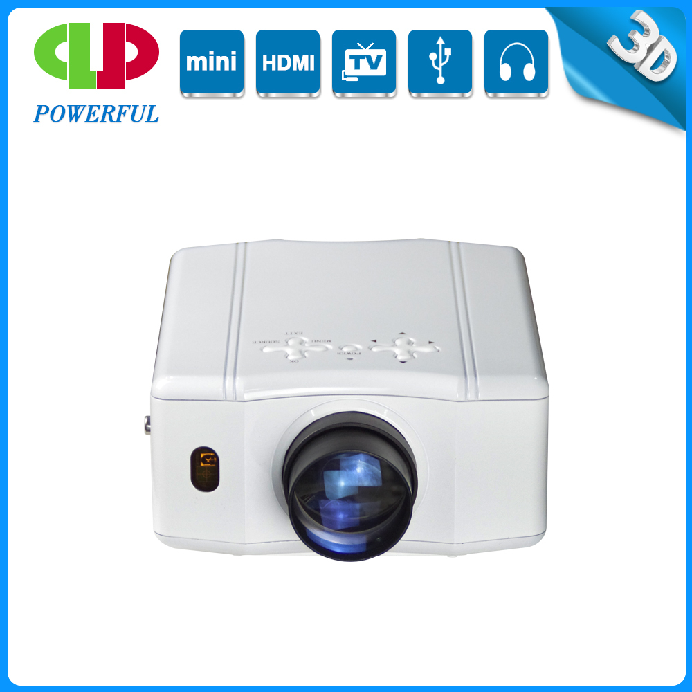 Mini led projector with HDMI USB SD AV VGA projector 1080P full hd wireless projector
