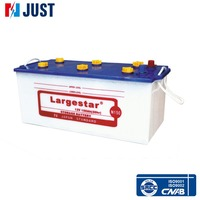 Performance best truck used car battery for cheap price (12v 150ah )