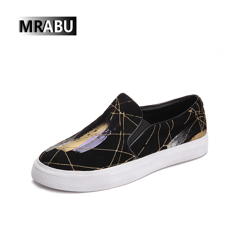 new spring zapatos planos para mujer brand factory comfortable casual fashion ladies black flat leather women shoe