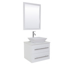 American white bathroom sink vanity design