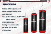 Top selling 25kg 2 colors kick boxing punching bag with clothing inside,training fitness steel hanger boxing man punching bags