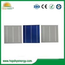 polycrystalline silicon solar cell price / solar cell 6*6 / single crystal silicon solar cells