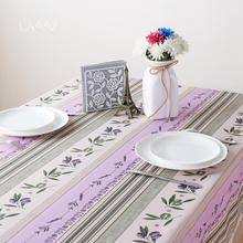 Hot Selling Heat Transfer Print Furnishing Christmas Table Cloth For Home