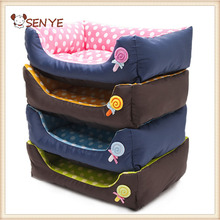 Pet Bed Dog Puppy Plush House Kennel Mat Pet Dog Nest Puppy Cozy Cat Soft Bed Fleece Kennel Plush Mat Coffee Warm House