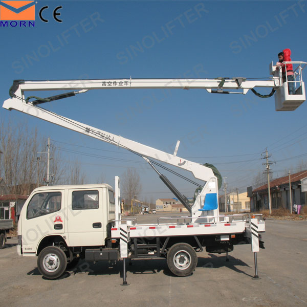 high lifting platform truck