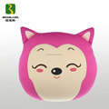 Lovely Ahri Shape Back Cushion Toy Stuffed With Polystyrene Beads