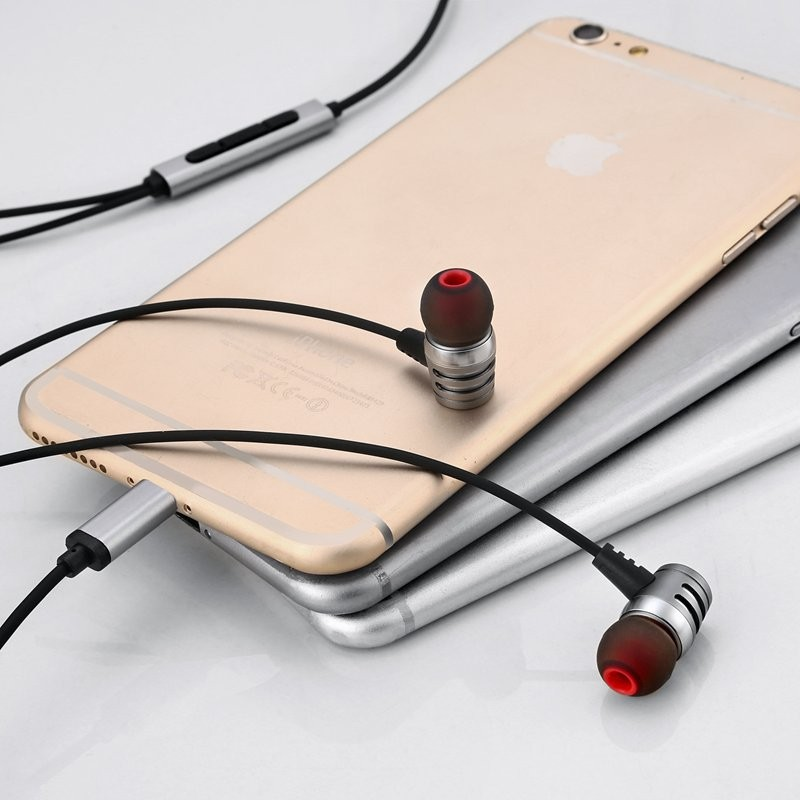 Hot sale wired earbud earphone mini headset usb microphones for mobile phone/laptop