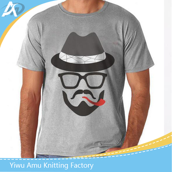 2017 wholesale promotional high quality Custom Printing men's t shirt