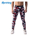 Camouflage gym pants men's elastic speed dry perspiration running and cycling basketball football game slacks