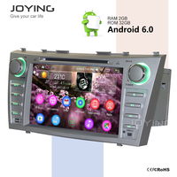 Double Din 8 Inch Android Key Dashboard Radio System Toyota Camry Car Multimedia