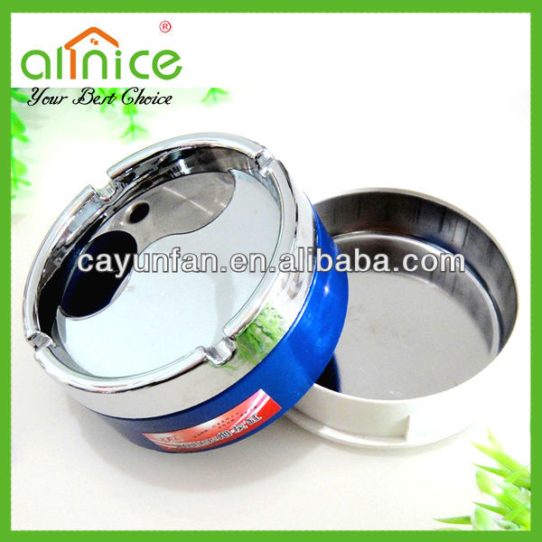 Ashtray with rotatable cover /cigar ashtray /metal ashtray