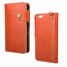 OEM ODM leather Mobile Phone Case for iPhone 5c, for iPhone5 Case