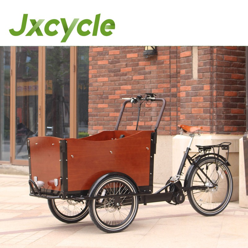 Motorized cargo bike/cargo tricycle