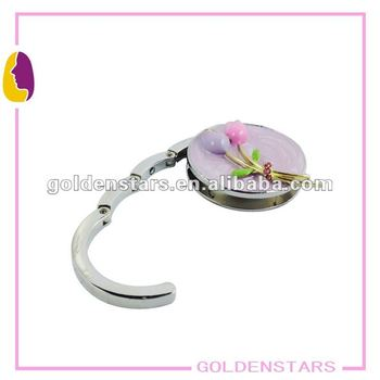 Beautiful tulip follower purse hook for ladies