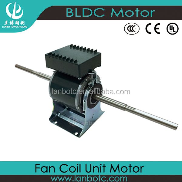 Stepless Speed Brushless DC <strong>Motor</strong> for Fan-Coil Unit Works