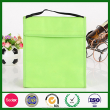 Wholesale Green Aluminium Foil Lunch Tote Insulated Cooler bag